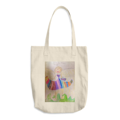A Basket Full of Wishes Cotton Tote Bag