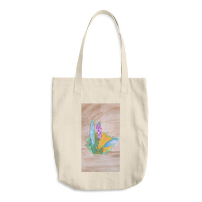 Flowers Cotton Tote Bag