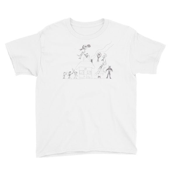 Battle at the Homefront Youth Short Sleeve T-Shirt