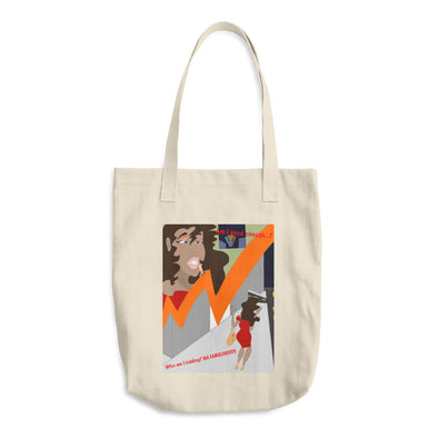 Confident Cotton Tote Bag