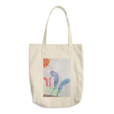 Flowers 2 Cotton Tote Bag