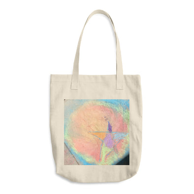 Star Burst Cotton Tote Bag