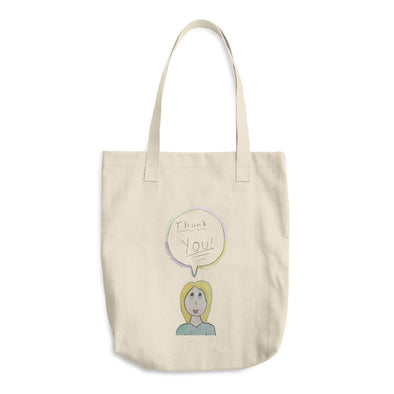 Thank You Cotton Tote Bag