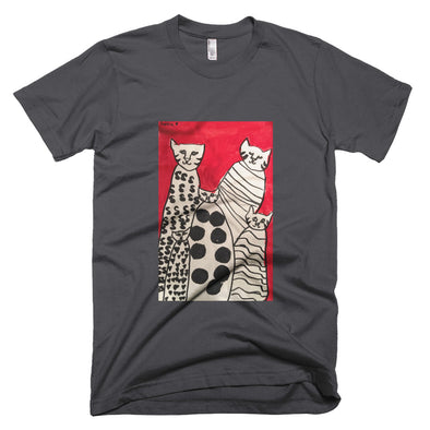Cats Short-Sleeve T-Shirt