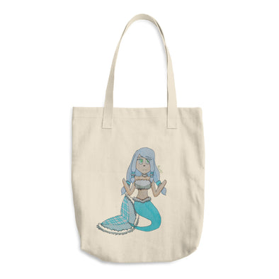 Ice Mermaid Cotton Tote Bag