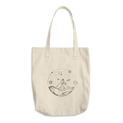 A Galaxy on Earth Cotton Tote Bag