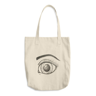 Eyes are the Sea to the Soul Cotton Tote Bag