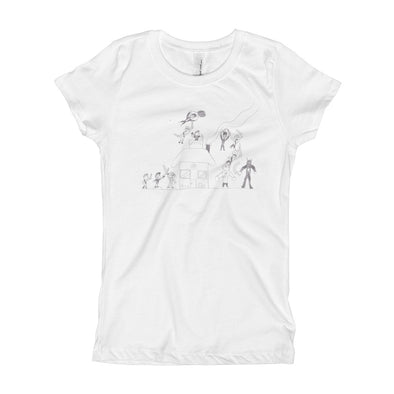Battle at the Homefront Girl's T-Shirt