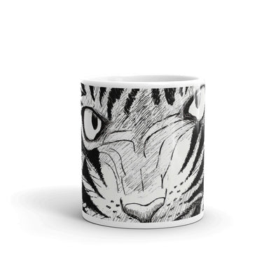 Full Furious Tiger Mug