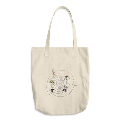 Human Cotton Tote Bag