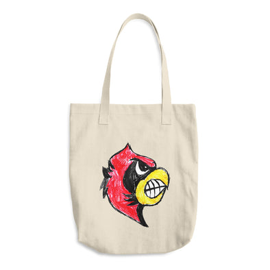 #1 Mascot Cotton Tote Bag