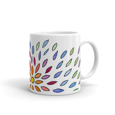 Petals of the Sunflower Mug