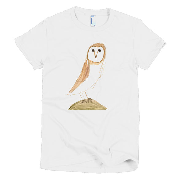 Barn Owl Short sleeve women's t-shirt