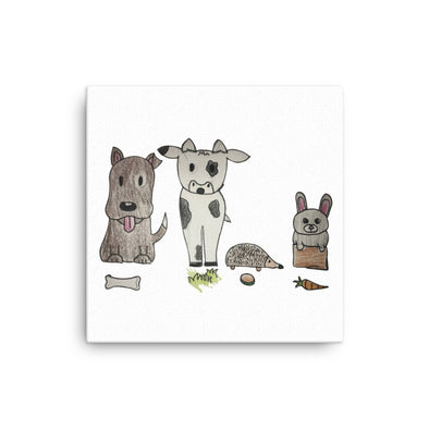 Animals Canvas