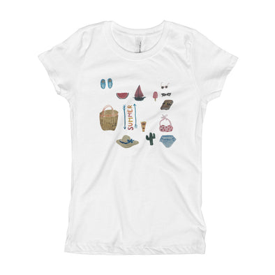 All Things Summer Girl's T-Shirt