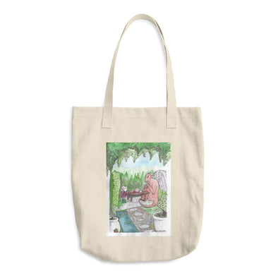 Tea Party Cotton Tote Bag