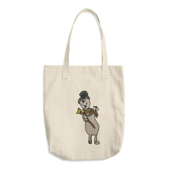 A Jolly, Happy Soul Cotton Tote Bag