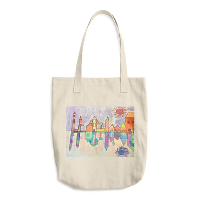 City of Colors Cotton Tote Bag