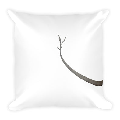 Growing Up Square Pillow