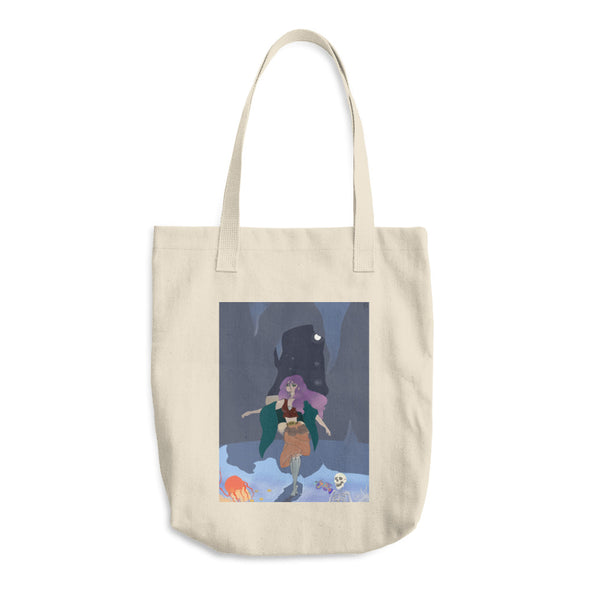A Night's Embrace Cotton Tote Bag