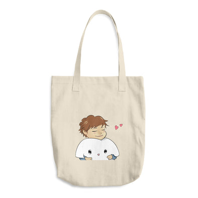 *squish* Cotton Tote Bag