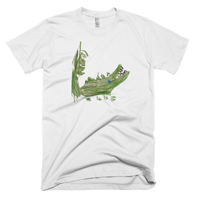 Allie Alligator Men's Short-Sleeve T-Shirt