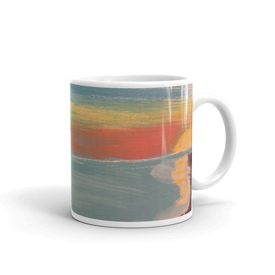 Spring Break Sunset Mug