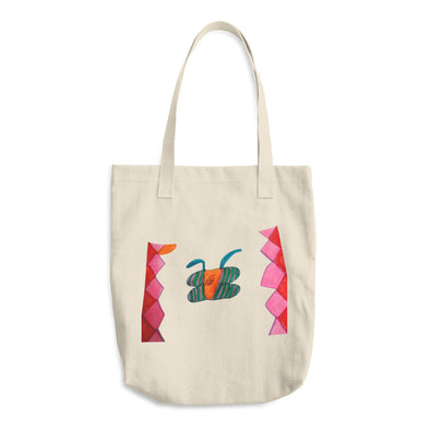 Abstract Butterfly Diamond Cotton Tote Bag