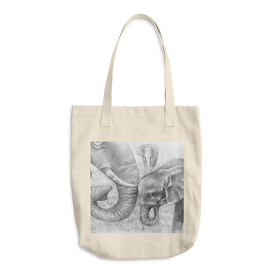 Mother Love Cotton Tote Bag