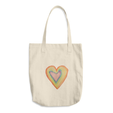 A True Rainbow Cotton Tote Bag