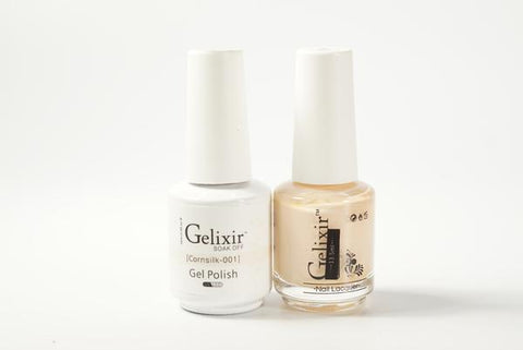 #001 – Gelixir Duo Gel polish – Cornsilk