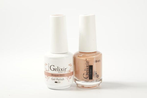 #002 – Gelixir Duo Gel polish – Bisque