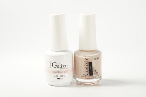 #003 – Gelixir Duo Gel polish – Love Bone