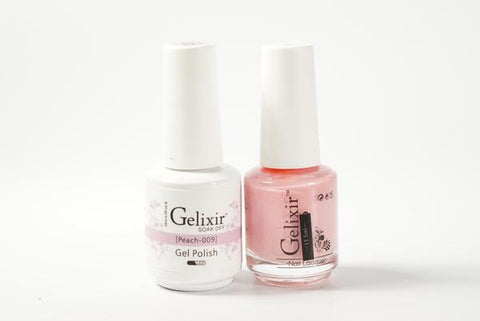 #009 – Gelixir Duo Gel polish – Peach