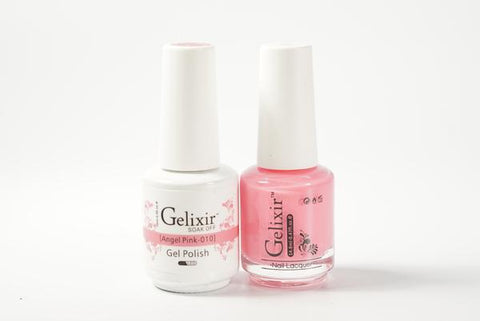 #010 – Gelixir Duo Gel polish – Angel Pink