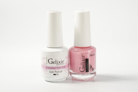 #016 – Gelixir Duo Gel polish – Carnation Pink