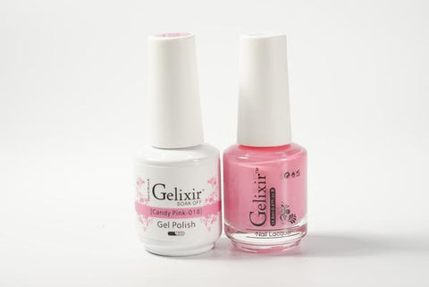 #018 – Gelixir Duo Gel polish – Candy Pink