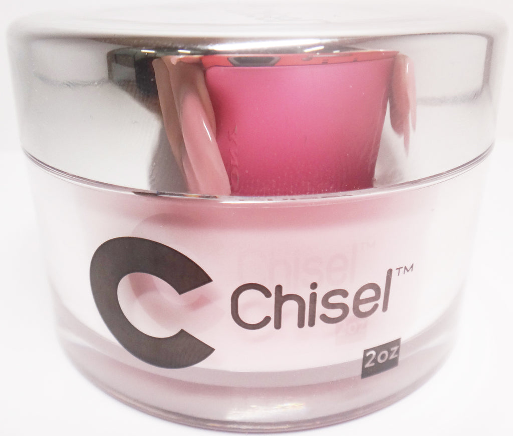 CHISEL 2IN1 ACRYLIC & DIPPING 2OZ  - LIGHT PINK