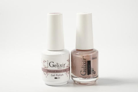 #026 – Gelixir Duo Gel polish – Natural Wood