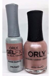Orly Perfect Pair Lacquer & Gel FX, 31199, Silken Quartz