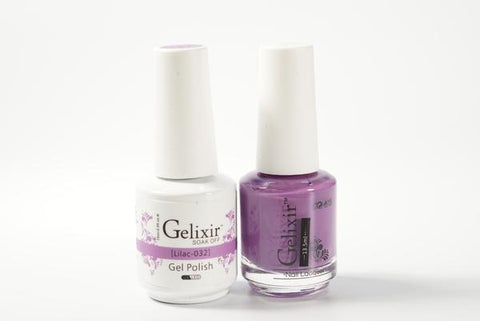 #032 – Gelixir Duo Gel polish – Lilac
