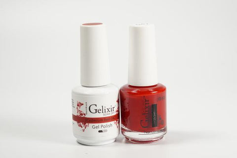 #042 – Gelixir Duo Off Gel polish – Cadmium Red