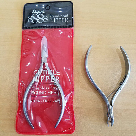 8888 Cuticle Nipper (Round Head) No.16 Full Jaw
