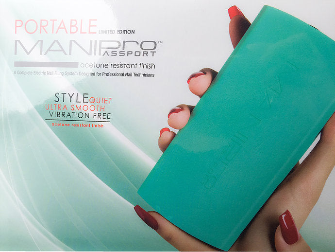 Kupa Mani Pro Passport Nail Drill Teal Limited Edition