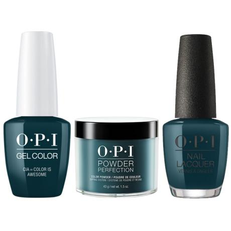 OPI 3in1, W53, Cia=Color Is Awesome
