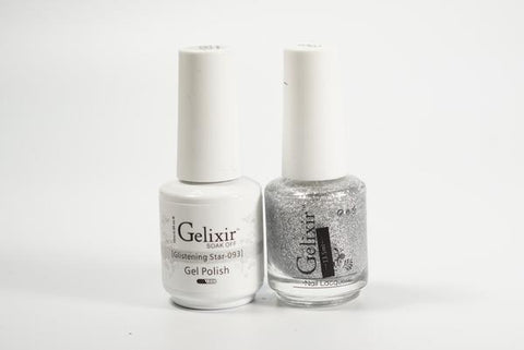 #093 – Gelixir Duo Gel polish – Glistening Star