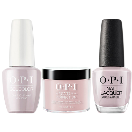 OPI 3in1, A60, Don't Bossa Nova Me Around