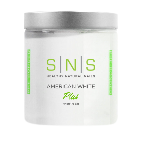 SNS Dipping Powder American White 16oz