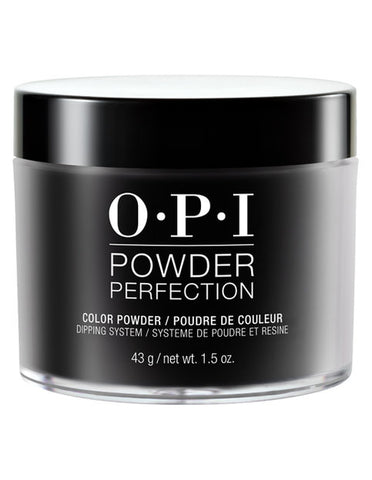 OPI  Dipping Color Powders -   Black Onyx