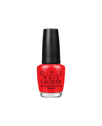 OPI Lacquer - Big Apple Red
